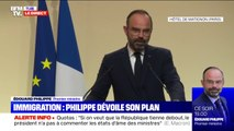 """Édouard Philippe: """"Nous voulons reprendre le contrôle de notre politique migratoire"""""""