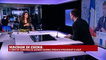 """Macron in China: """"It was very important for Macron to show this as being an European trip"""""""
