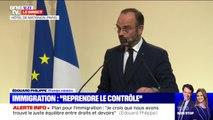 """Édouard Philippe sur le plan pour l'immigration: """"Nous avons décidé d'aller loin dans le contrôle là où les abus ne sont plus tolérables"""""""