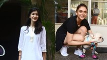 Spotted: Shanaya kapoor at bandra & Aditi Rao Hydari at Sequel restaurant in Bandra