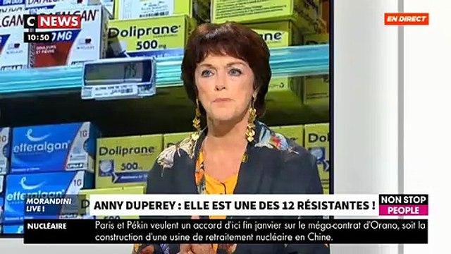 """L'actrice Anny Duperey revient sur sa participation à un reportage d'Envoyé Spécial sur France 2: """"C'était un peu une trahison"""" - VIDEO"""