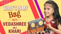 What's In My Bag - ft. Vedashree | Khaari Biscuit