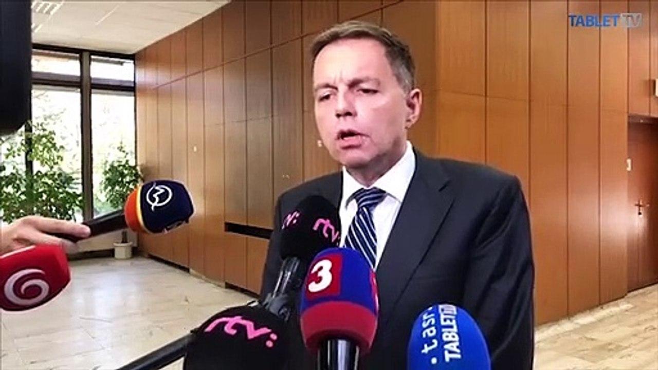 ZÁZNAM: Brífing guvernéra NBS P. Kažimíra