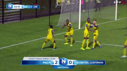 Pau FC 3-3 USCL J12 National FFF 19/20