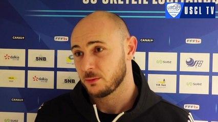 J13 USCL-FCVB : l'interview d'avant-match de Stéphane Véron