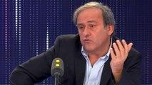 """Michel Platini raille le PSG, qui joue avec """"un Français dans l'équipe"""" : """"Ça pourrait s'appeler Coca Cola ou autre chose"""""""