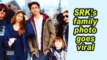 SRK's family photo goes viral