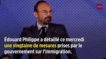 Philippe : des mesures « pour reprendre le contrôle de notre politique migratoire »