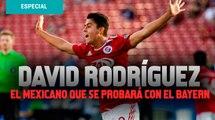 David Rodríguez, el mexicano de 17 años olvidado por el Tri que se probará con el Bayern Munich