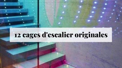 12 cages d'escalier originales