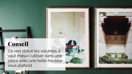 7 nuances de vert pour habiller nos murs