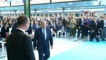 Ulaştırma Bakanı Turan: 'Bakü-Tiflis-Kars demiryolu hattı Çin ile Türkiye arasındaki yük taşıma süresini bir aydan 12 güne Marmaray'ın bu hatta entegre olmasıyla Uzak Asya ile Batı Avrupa arasındaki süreyi 18 güne düşürmüştür.'