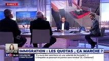 """André Bercoff : """"Il y a des millions de chômeurs en France. Est-on absolument sûr qu'il y a besoin de chercher des gens à l'étranger ?"""""""