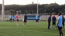Lazio, seduta di allenamento aperta ai media