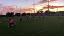 Lazio, 15 minuti aperti ai media