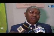 RTG/Rencontre entre l'Ambassadeur d'Egypte au Gabon, Hamed BAKR et le Ministre de la promotion des investissements, JeanOTANDAULT  en prélude à la 4e édition du forum Afrique 2019