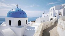 """SANTORINI"" Top 20 Tourist Places | Santorini Tourism | GREECE"