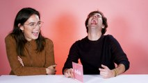 David Dobrik Confesses His Crush On Natalie In This Sour Candy Challenge