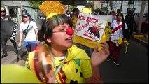 Peru'da yüzlerce kişi boğa güreşlerini protesto etti