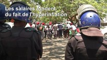 Zimbabwe: la police réprime la grève dans la fonction publique