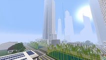 Minecraft PS4 - Incredible New Modern City World Tour! - Las Shoria (Minecraft World Tour)