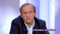 Invité spécial : Michel Platini - C à Vous - 06/11/2019