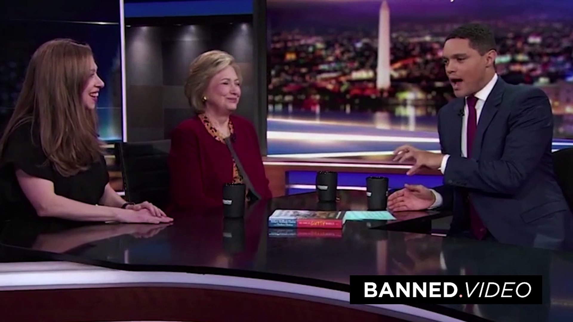 Trevor Noah asked Hillary how she killed pedophile Jeffrey Epstein, instead of answering she just la