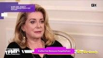 Catherine Deneuve hospitalisée de toute urgence suite à un accident vasculaire
