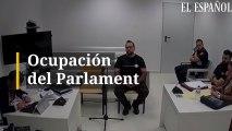 Ocupación del Parlament