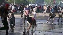 Chili: heurts entre manifestants et forces anti-émeutes