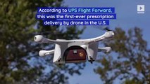 UPS and CVS Deliver Prescription Meds by Drone for the First Time