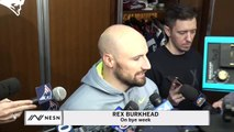 Rex Burkhead On Who He'll Root For During LSU Vs. Alabama Game