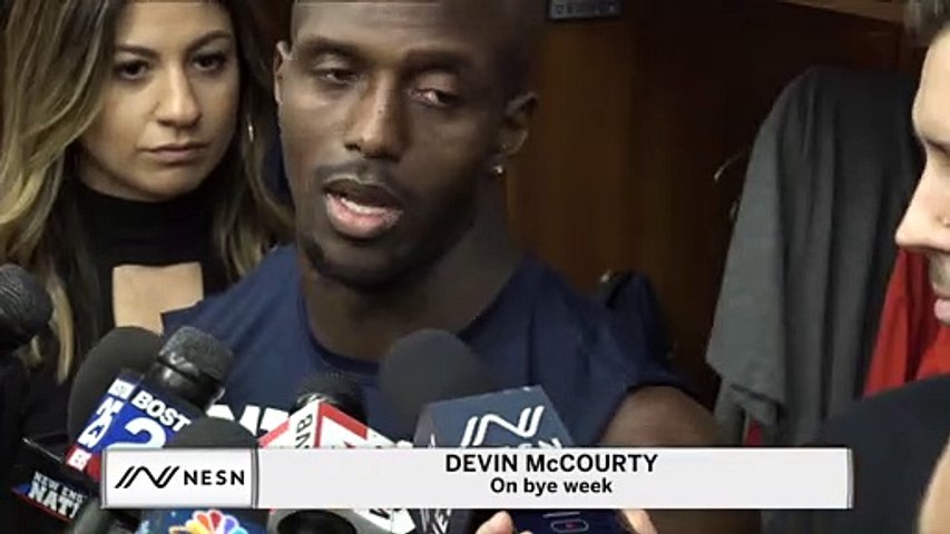 Devin McCourty On Work-Life Balance During Bye Week