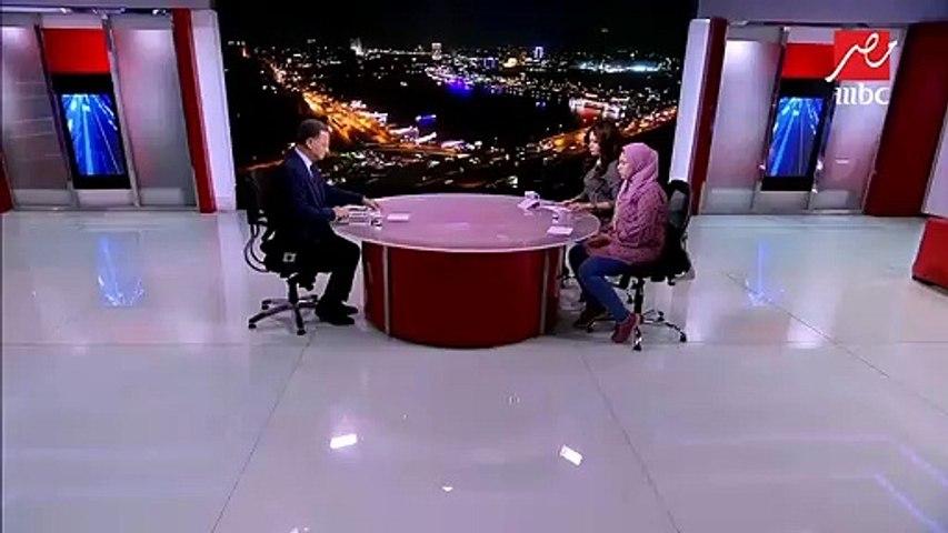 """أميرة أحمد رزق """"فتاة العياط"""" في أول ظهور تليفزيوني لها مع """"يحدث في مصر"""""""
