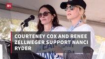 Courteney Cox And Renee Zellweger On This ALS Walk