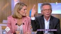 Julie Andrieu révèle qu'elle est cousine avec Patrice Leconte