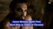 Jason Momoa's Thoughts On 'Game of Thrones'