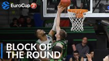 7DAYS EuroCup Block of the Round:  Luke Harangody, Joventut Badalona