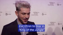 Zac Efron Shares Details On New Movie