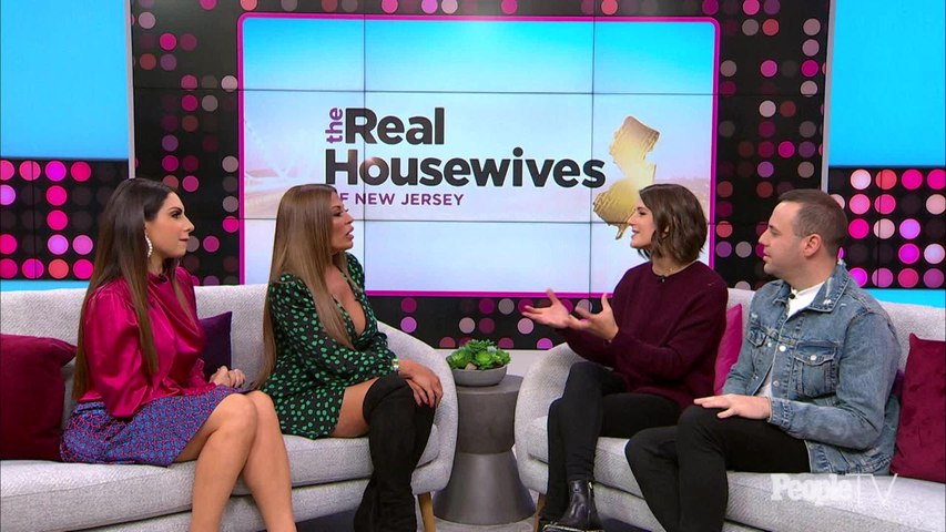 'RHONJ' Star Dolores Catania's Key to Living with Both Her Ex-Husband and BF: 'It's All About Peace'
