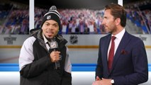 Lazlo Holmes questions Henrik Lundqvist on his style