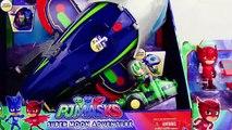 PJ Masks Toys Super Moon Adventure Rover Vehicles and HQ Rocket