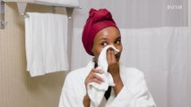 Halima Aden's Nighttime Skincare Routine   Go To Bed With Me