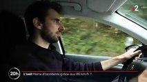 """80 km/h : Malgré une baisse des accidents, la Corrèze veut augmenter la vitesse - Le président du Conseil départemental l'assume : """"On n'a pas de leçons à recevoir de l'Etat!"""""""