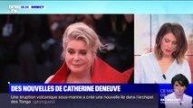 En plein tournage dans un hôpital, Catherine Deneuve a pu être rapidement prise en charge après son accident vasculaire