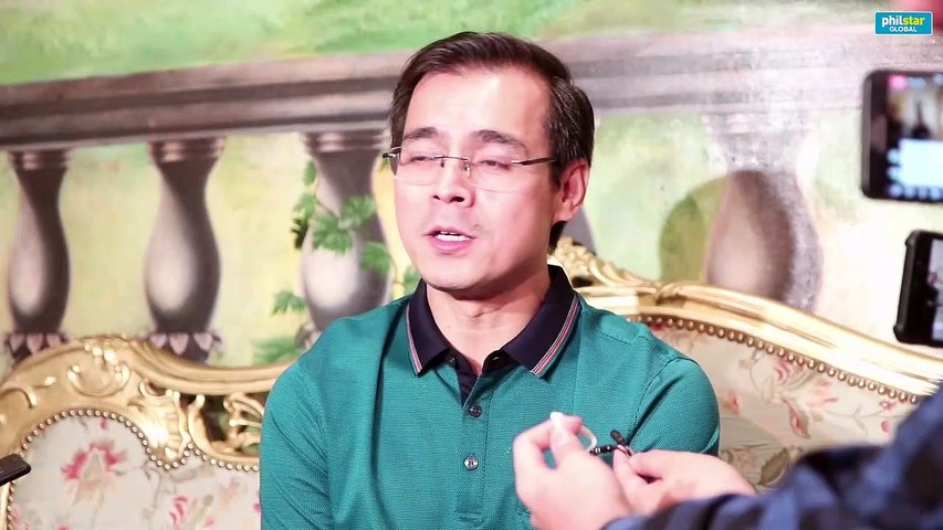 Manila Mayor Isko Moreno talks about MMFF movie with Coco Martin