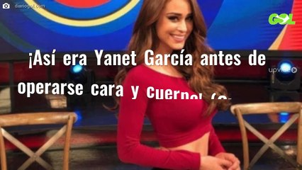 ¡Así era Yanet García antes de operarse cara y cuerpo! (Ojo a la foto)