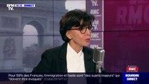 """Immigration économique; Rachida Dati affirme que la mesure sur les quotas """"est une mesure qu'on devrait peut-être plus fluidifier sur les procédures"""""""