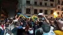 Alger Les emblèmes amazigh en force ce soir  31 octobre  à Alger