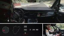 VÍDEO: ¡Qué bestia! El Audi RSQ8, récord en Nürburgring: 7:42.253 (vuelta ONBOARD)